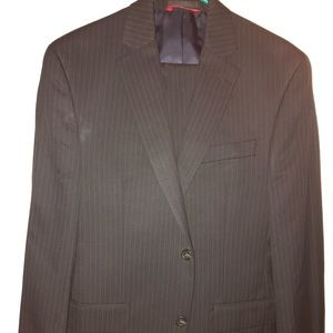 Men's suit jacket and dress pants